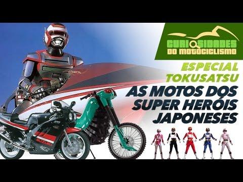 ESPECIAL TOKUSATSU - 6 motos que marcaram nossa infância - Jaspion + Jiban + Changeman