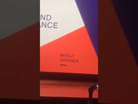 Wuilly Arteaga,en una excelente presentación en el Oslo Freedom Forum en New York City,