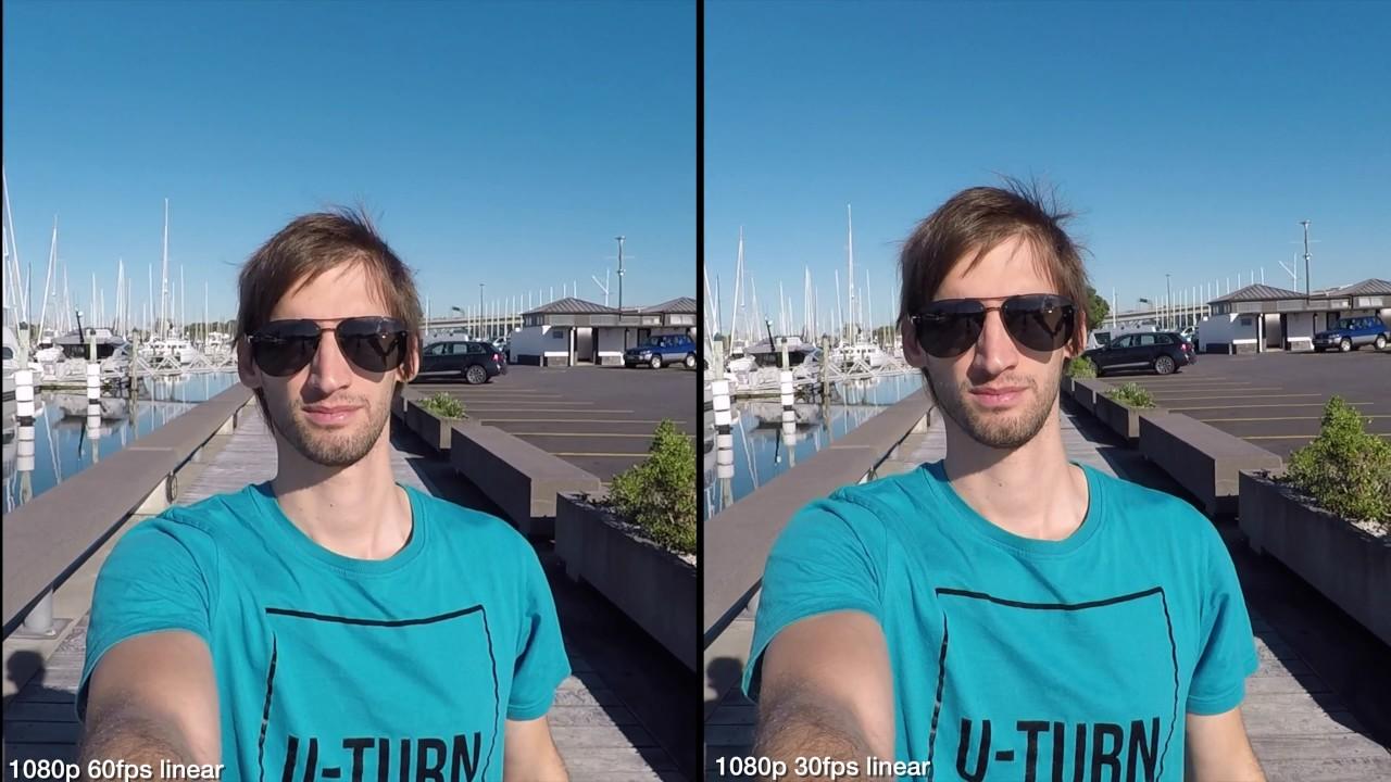 Gopro Hero 5 4k vs 2k vs 1080p image quality comparison