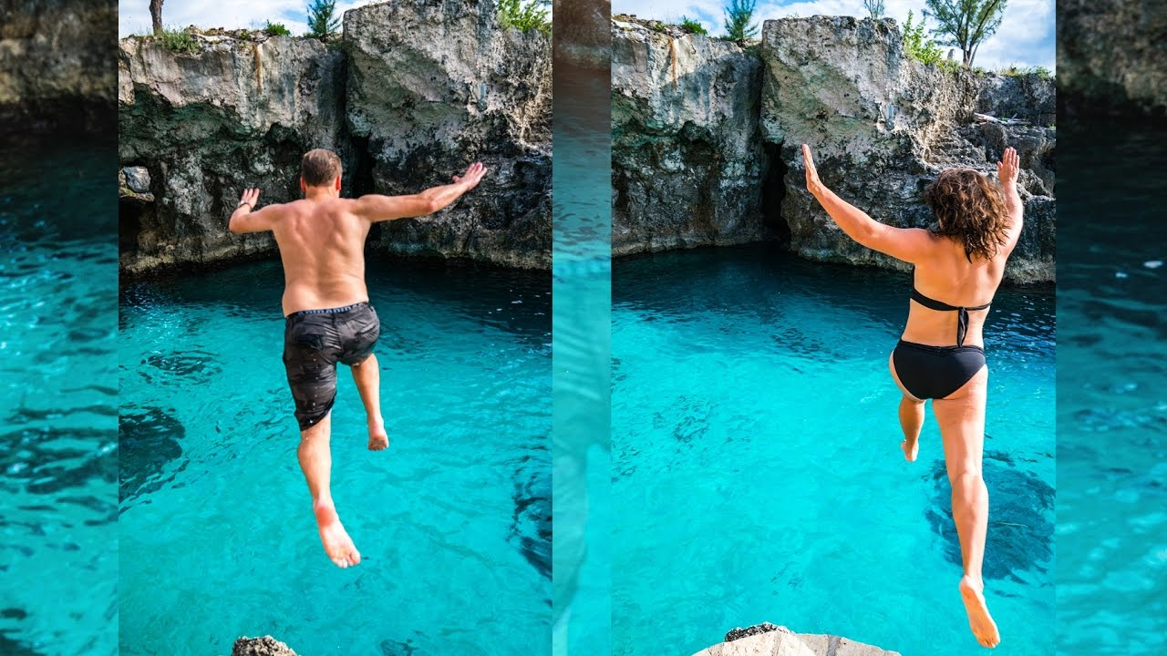 Jamaica White Sand Beaches Cliff Jumping Local Food And Meeting Dragon