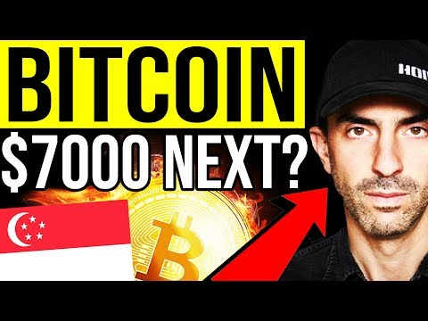 Bitcoin $7000 NEXT?! 🔴 Meeting Tone Vays, ByBit, Kim Dotcom, Liquid