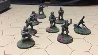Chain Of Command: Painted WW II Germans