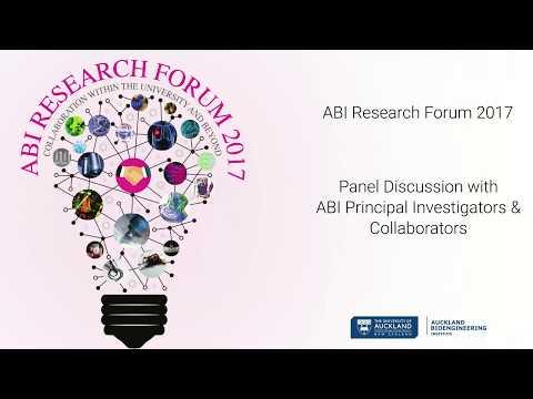 ABI Research Forum 2017 Panel Discussion with ABI Principal Investigators and Collaborators