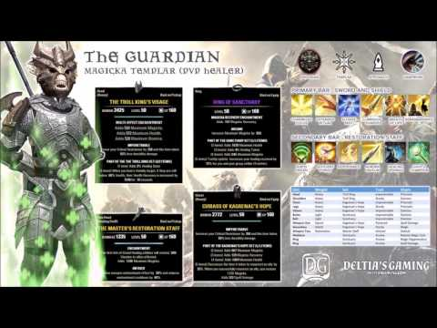 ESO PvP Healer for Homestead Update 13 - The Guardian formerly the Warden