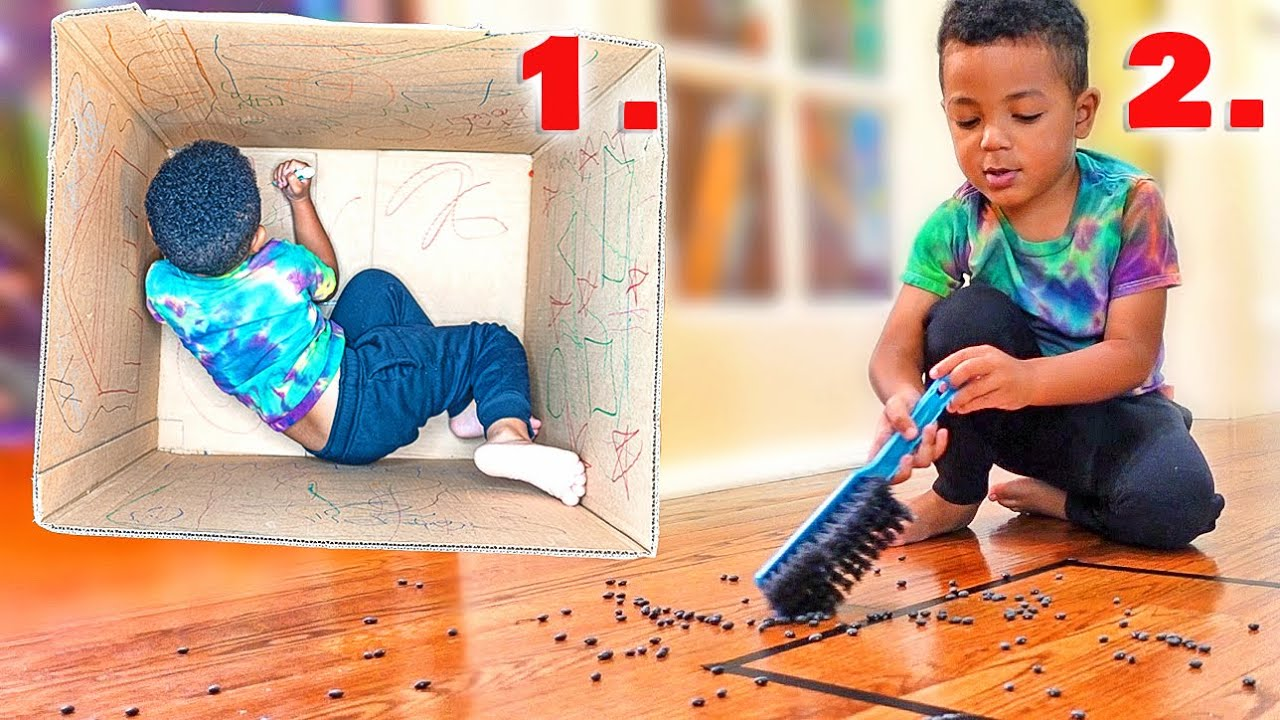 How To Keep A Child Busy So Parents Can Work!