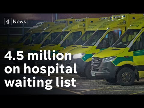 UK's hospitals struggling to cope, as MILLIONS wait for treatment
