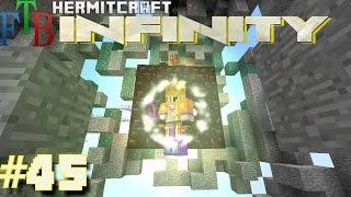 Minecraft Mods - FTB Infinity Ep. 45 - Bedrock Breaker !!! ( HermitCraft Modded Minecraft )