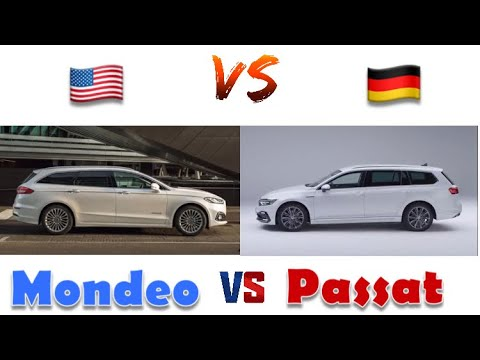2020 Ford Mondeo - 2020 VW Passat / Station Wagon