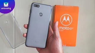 Motorola E6 play | Unboxing en español