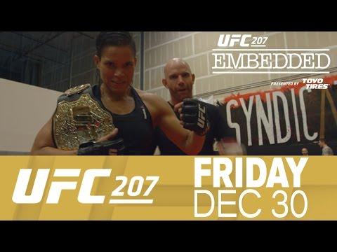 UFC 207 Embedded: Vlog Series - Episode 1