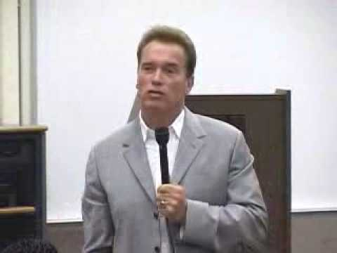 CSULB - California Governor Arnold Schwarzenegger Speaks