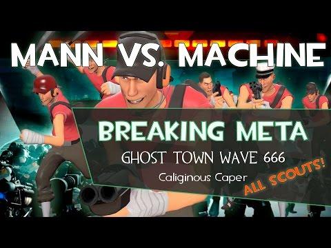 Breaking Meta: MvM Ghost Town Wave 666 All Scouts