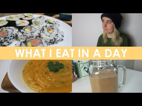 What I Eat In A Day (Gluten Free, Dairy Free, Sugar Free) - Healthy Jan Recipes! #1