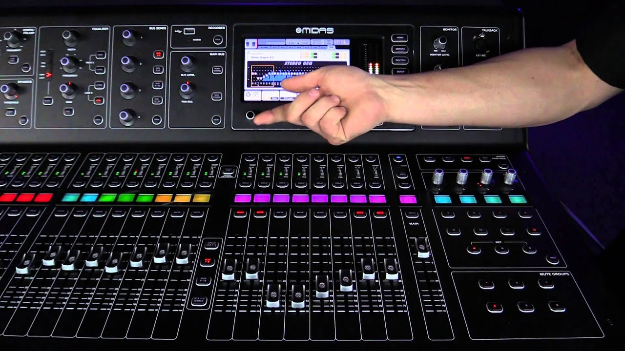 Midas M32-IP Digital Console For Live Performance and M32-IP B&H