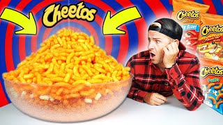 WORLD'S BIGGEST BOWL OF CHEETOS! (25,000 CALORIE FOOD CHALLENGE)