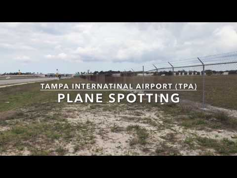 Tampa International Airport Plane Spotting (With ATC and flight Information)