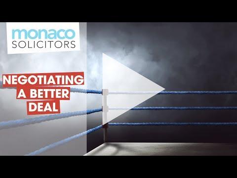 Settlement Agreements - Negotiating A Better Deal
