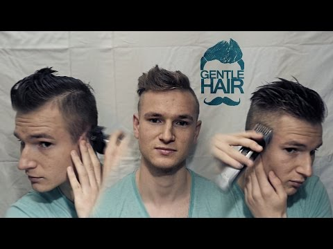 How To Cut Your Own Hair For Men Disconnected Undercut Style