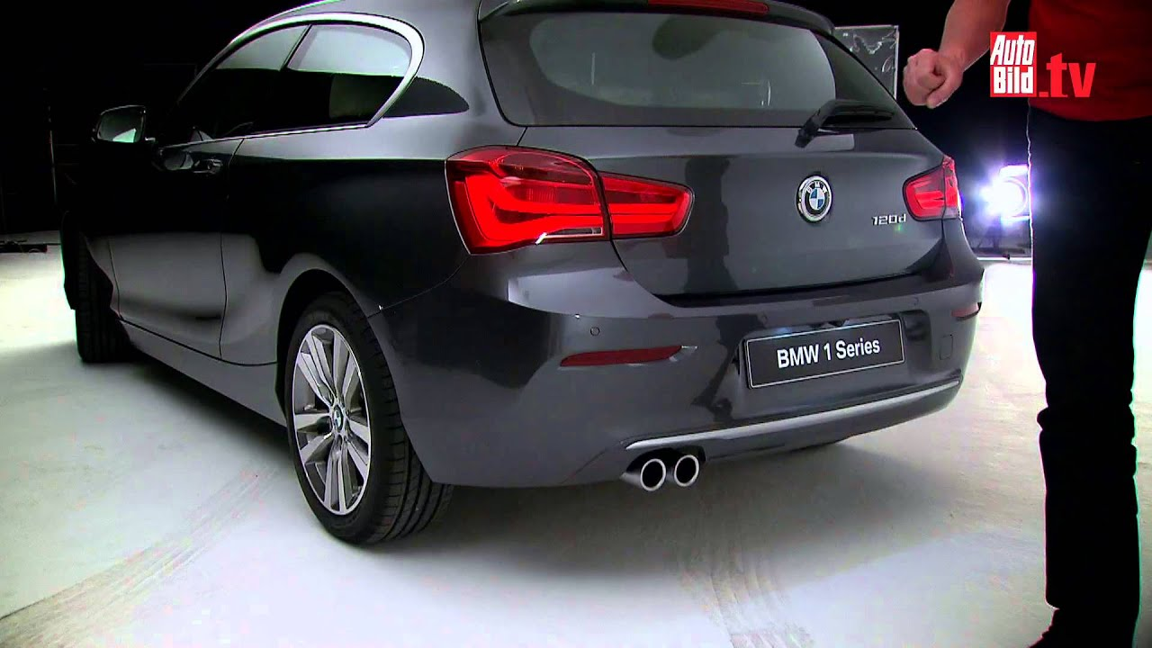 bmw 1er facelift 2015 youtube. Black Bedroom Furniture Sets. Home Design Ideas