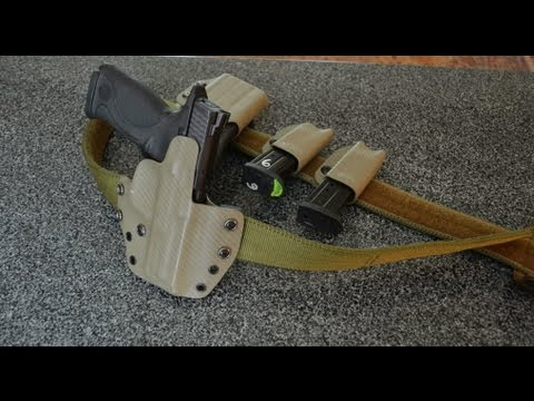 US Gruntgear Contractor Belt, Holsters and Pouches