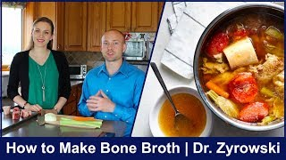 How To Make Bone Broth 2018 | Super Delicious!