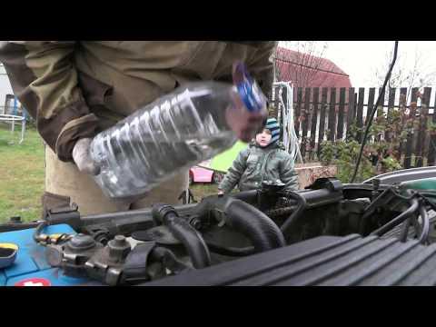 Toyota Corolla AE100\110  Замена антифриза своими руками