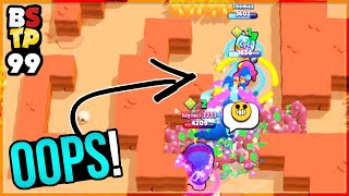 "Biggest ""OH SH*T"" Moment 😳 Top Plays in Brawl Stars #99"