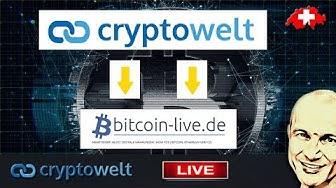 Kooperation mit bitcoin-live.de - ab sofort alle Videos von cryptowelt gelistet