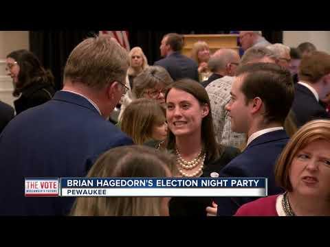 Festivities underways at Judge Brian Hagedorn's election night party