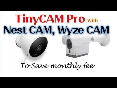 Download Tinycam Pro How To Setup For Nest Cam Wyze Cam