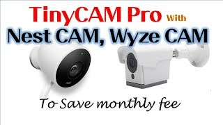 Download View Wyzecam Streams On Actiontiles Using Tinycam