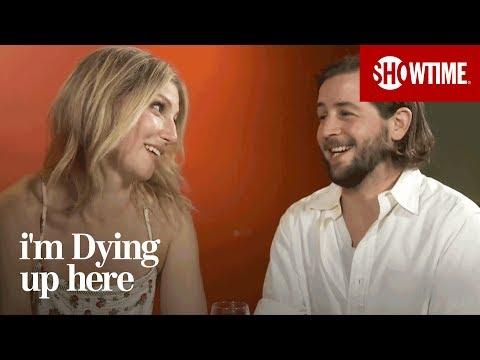 Ari Graynor & Michael Angarano Define Chuckle F**ker  I'm Dying Up Here  Season 1