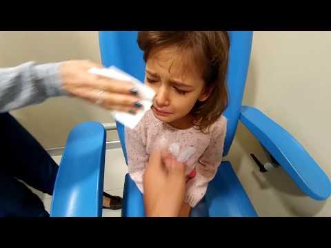 Elif hastalandı doktora gittik, Kan tahlili istenince çok ağladık