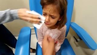Elif hastalandı doktora gittik Kan tahlili istenince çok ağladık