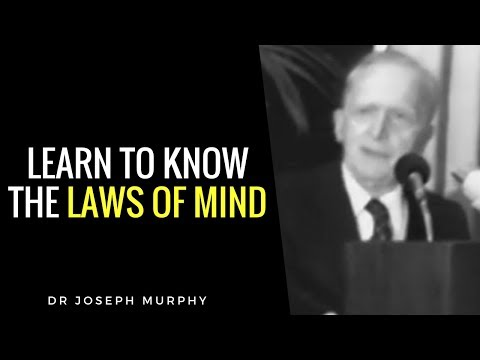 Dr. Joseph Murphy footage. Laws of Mind. The Power Of Your Subconscious Mind. Imagination.