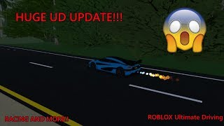HUGE UD UPDATE! Roblox ultimate driving racing update!