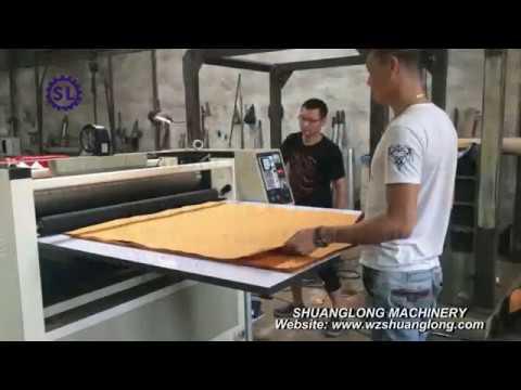 Manual sheet paper embossing machine embosser
