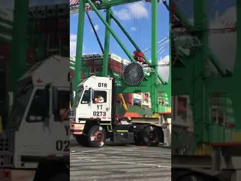 Container Crane Failure