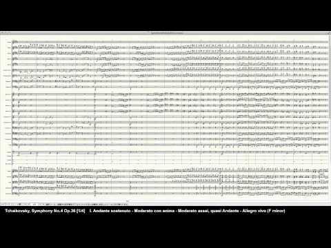 Tchaikovsky Symphony No.4 Op.36 1/4 - Programed in Finale 2014 by pkmtKuma