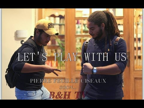 Let's Play With us (Pierre-Feuille-Ciseaux) TUNISIA ✪ B&H TV ✪