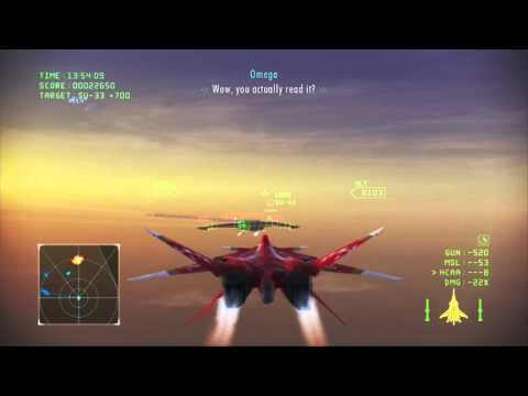 Ace Combat Infinity (XFA-27) Mission 5 (Far Eastern Front)