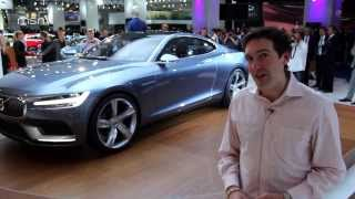 Volvo Concept Coupe at the Frankfurt Motor Show 2013
