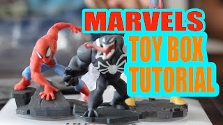 Disney Infinity 2.0 Marvels Toy Box Tutorial