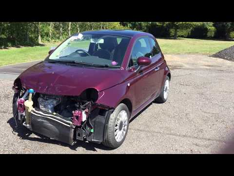 PT 2 fiat 500 rebuild Copart salvage insurance cat s structural dmg but was it really structural ?
