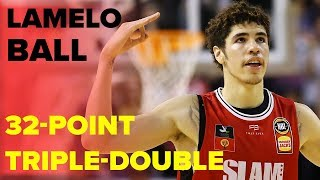 LaMelo Ball Drops 32-Point Triple-Double and Comes Up CLUCH in Win | Full Highlights
