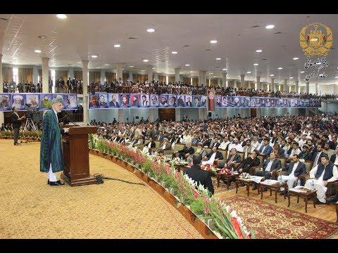 سخنرانی حامد کرزی در مراسم بزرگداشت از هفتهٔ شهید و سالروز شهادت قهرمان ملی کشور احمدشاه مسعود