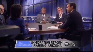 Roundtable Immigration Debate with Bill Maher