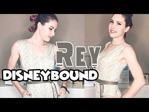 Rey Disneybound | outfit + hair + makeup tutorial |