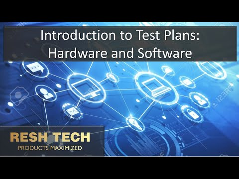 Introduction To System And Product Test Plans For Hardware And Software