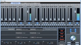 Scarlett 6i6 MixControl Software Tutorial